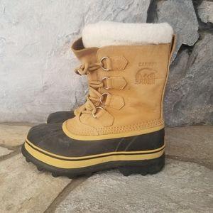 Sorel Caribou Mens Sz 8 Waterproof Boots